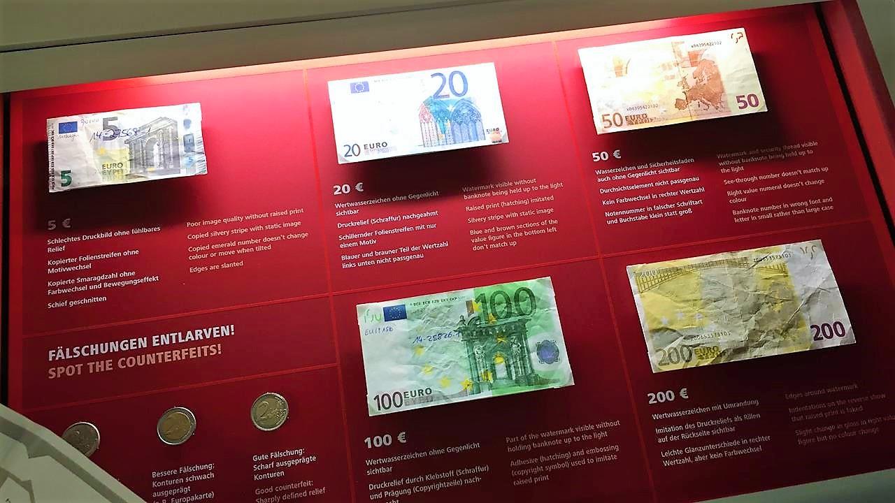 Von Goldbarren und Blüten: Im Geld-Museum der Deutschen Bundesbank