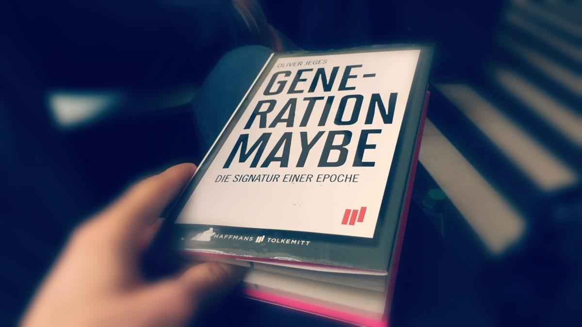 """Lesestoff trifft Lyrisches: Vom Dilemma der """"Generation Maybe"""""""