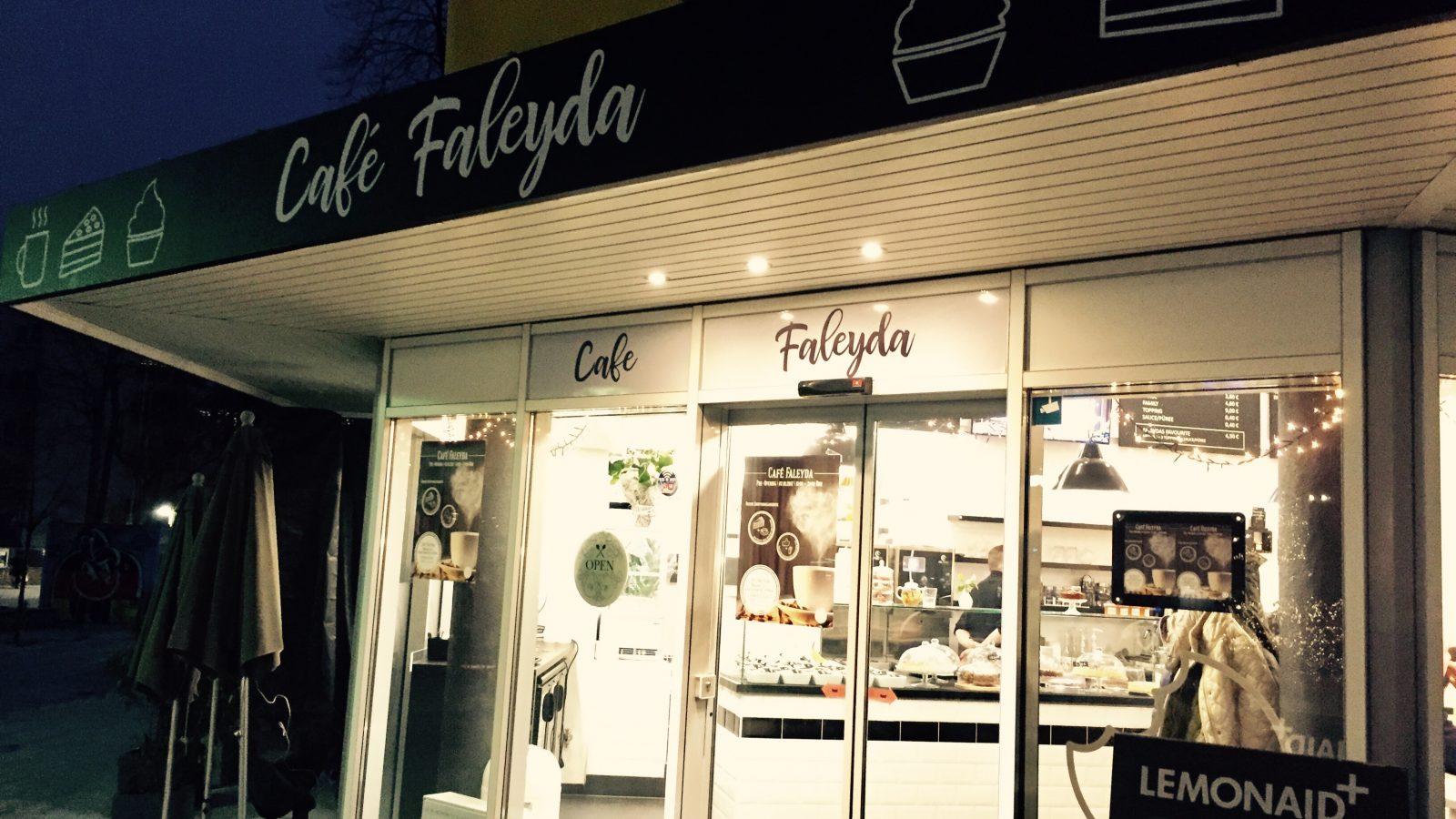 """Neueröffnung auf der Berger Straße: """"Café Faleyda"""""""