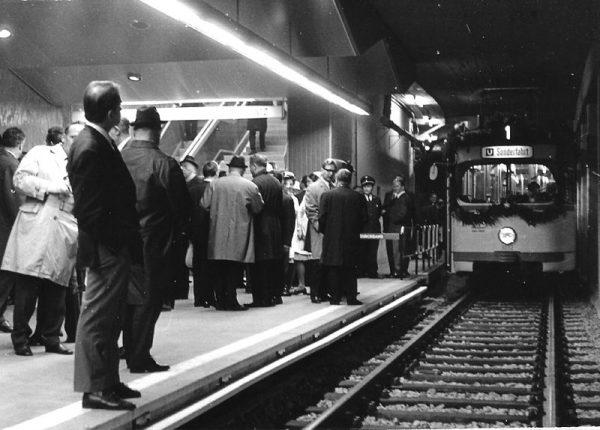 """Sehenswert: Hessenschau zur Eröffnung der U-Bahn 1968. Die """"gute, alte Zeit?"""""""