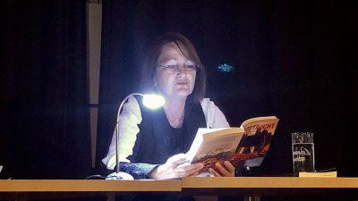 """Krimi im Kaufhaus: Zwei meiner """"Helden"""" luden zur Lesung"""