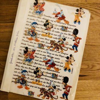 """""""Texte von gestern"""": Weshalb eine Geschichte aus Kindertagen mit mir nach Berlin reiste"""