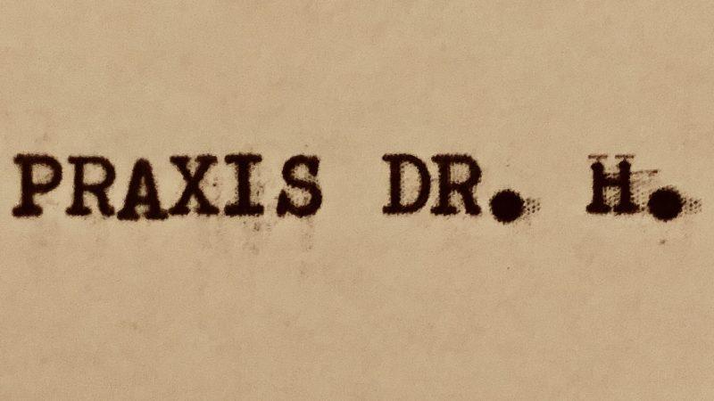 Psychiatrie trifft auf Poesie: Vom unverhofften Oft und der Praxis des Dr.H